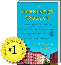 The Happiness Project is recommended by Everyday Comforts